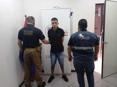 Expulsan del país a supuesto traficante de drogas brasileño