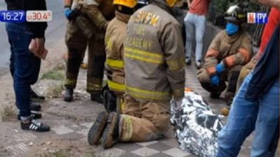 Orteman protagoniza accidente sobre Mariscal López