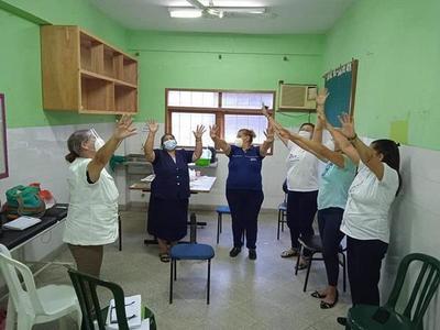 Apoyo psicológico a personal de salud y a pacientes con COVID-19, en Coronel Oviedo – Prensa 5