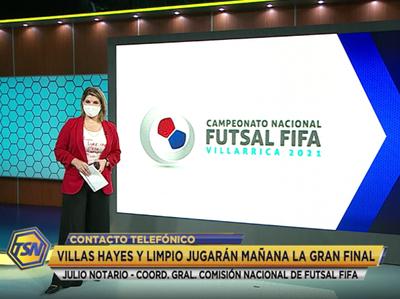 Julio Notario en contacto con Tigo Sports Noticias