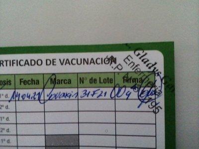"""Una doctora denunció que """"dieron su vacuna antiCovid a otra persona"""""""