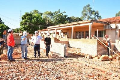 Caazapá: Avanzan las obras en el Hospital de Yuty