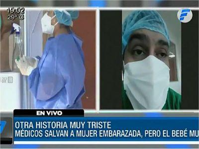 Bebé  falleció tras complicaciones de la madre por coronavirus