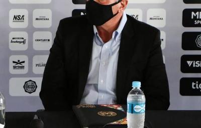 Para Brunotte, ganar la Libertadores es una materia pendiente