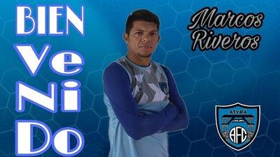 Marcos Riveros es nuevo refuerzo de Atyrá FC