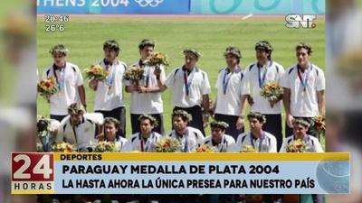 Recordamos la medalla de plata para Paraguay en el 2004