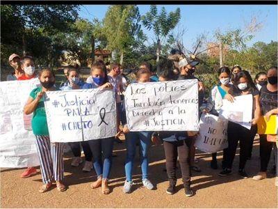 Pobladores de una comunidad rural exigen Justicia por muerte de un joven