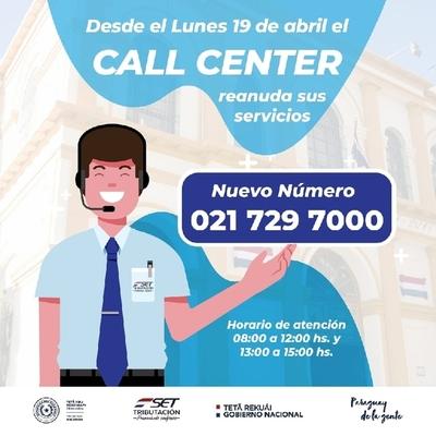 La SET habilitará desde este lunes nueva línea telefónica para consultas