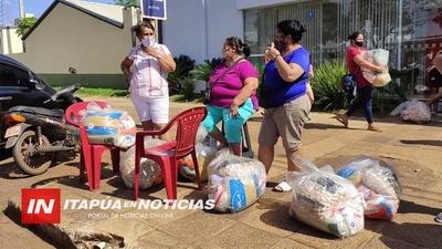 ENTREGA DE KITS DE VÍVERES PARA COMERCIANTES SERÁ ESTE SÁBADO.