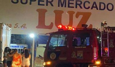 Principio de incendio que no pasó a mayores en céntrico local comercial de PJC