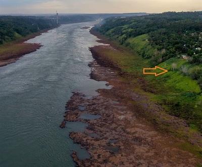 Nivel del río PARANA está 70% por debajo de lo NORMAL