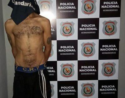 Cae detenido delincuente con antecedentes tras persecución policial en Hernandarias – Diario TNPRESS