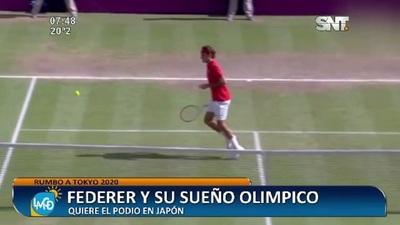 Rumbo a Tokyo 2020: Roger Federer y su sueño Olímpico
