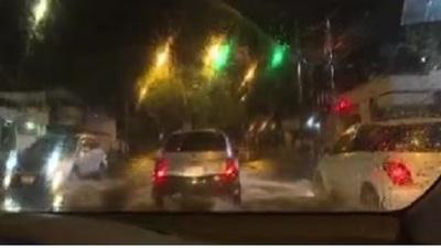 Varios barrios quedaron sin energía eléctrica tras la tormenta