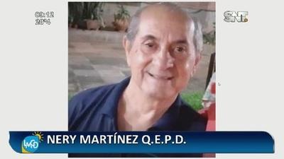 Hasta pronto querido Nery Martínez, Q.E.P.D