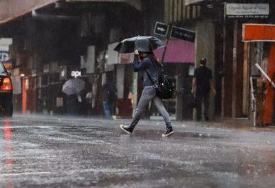 Persistirán las lluvias con ocasionales tormentas eléctricas