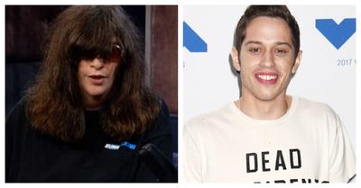 Pete Davidson interpretará a Joey Ramone en un biopic para Netflix