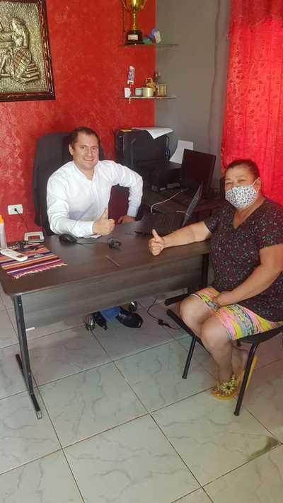 Elias Bernal sigue sumando apoyo de dirigentes de los barrios de CDE