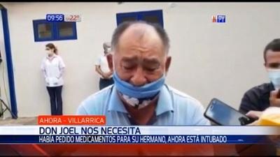 Taxista que clamó por medicamentos ahora está intubado por Covid-19