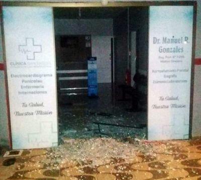 Disparan contra una clínica médica en el barrio San José