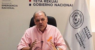 La Nación / Ministro de la SEN promete asistir a todos los afectados por el temporal