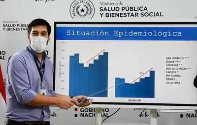 Sequera afirma que si el ritmo de contagios prosigue, llegaríamos a 100 muertes por día