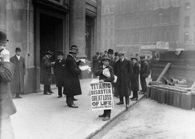 16 de abril de 1912: el día en que el mundo se enteró del desastre del Titanic
