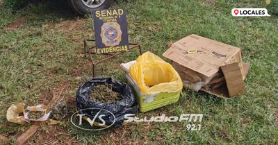 SENAD ELIMINA FOCO DE DISTRIBUCIÓN DE DROGA EN CAMBYRETA