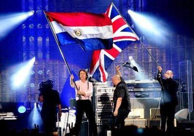 Hace nueve años Sir Paul McCartney pisaba tierra guaraní