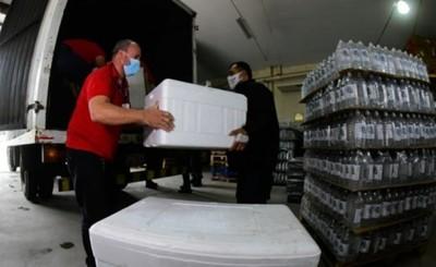 Ministerio de Salud recibió insumos y medicamentos donados por EEUU