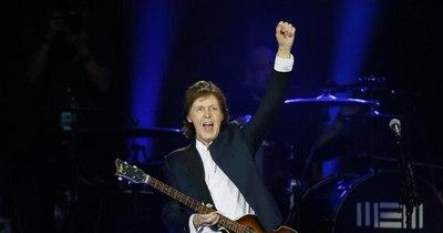 La Nación / Conmemoran 9 años de la visita de Paul McCartney en Paraguay