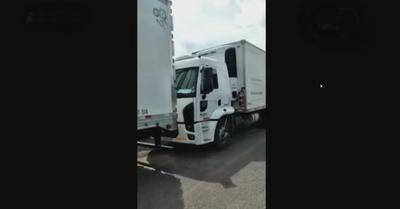 Liberan camión trasportador de plasma tras 9 horas
