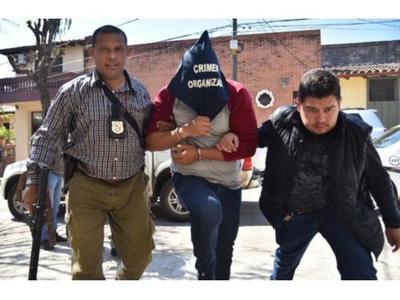 """Roque """"Py Guasu"""" fue recapturado por la policía en Ciudad del Este"""