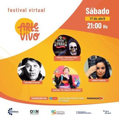 Festival #ArteVivo continúa este fin de semana con un calendario de música y teatro