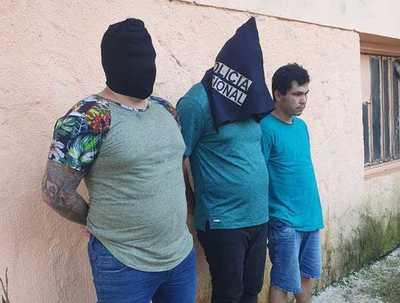 Con AYUDA brasileña detienen nuevamente ROQUE PYGUASU
