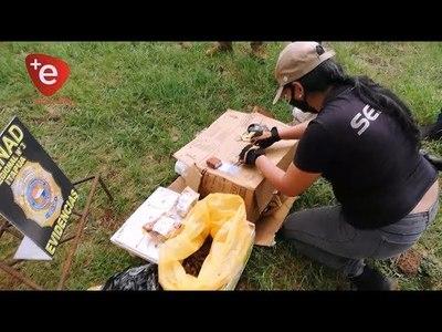 INCAUTAN ESTUPEFACIENTES Y HASTA SEMILLAS DE DROGAS EN VIVIENDA DEL B° LA AMISTAD