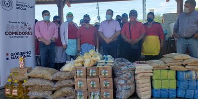 Entregan alimentos a trabajadoras de la Terminal de Ómnibus de Coronel Oviedo