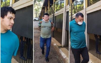 Roque Pyguasú detenido cuando pretendía entrar al pais desde Foz de Yguazú