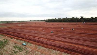 Con trabajos de movimiento de suelo está la futura Subestación Yguazú 500 kV