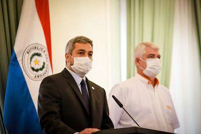 Abdo promulga ley para ocultar contratos de vacunas