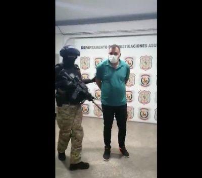 Roque Pyguasu y cómplices ya se encuentran en Asunción para su comparecencia