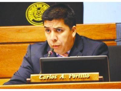 La Sala Penal destraba  caso del diputado Carlos Portillo