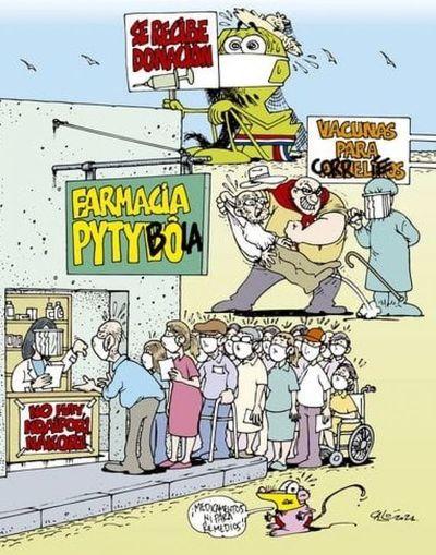 """El engorroso y por ende fracasado programa """"Pytyvõ Medicamentos"""" es motivo de críticas y burlas"""