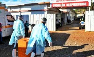 Itaipu entrega alimentos a pacientes y personal de blanco