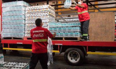12 hospitales reciben puestos de hidratación para hacer frente al Covid-19