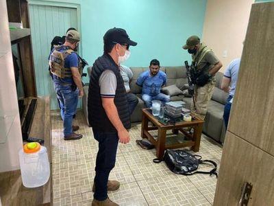 Senad incauta cocaína en lavadero en Pedro Juan