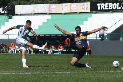 Rubio Ñu y Trinidense empataron 2-2 en el clásico de Trinidad