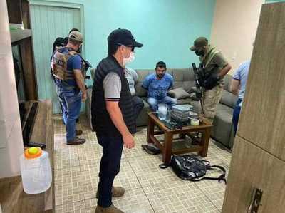 SENAD se incautó de más de 10 kilos de cocaína en Pedro Juan