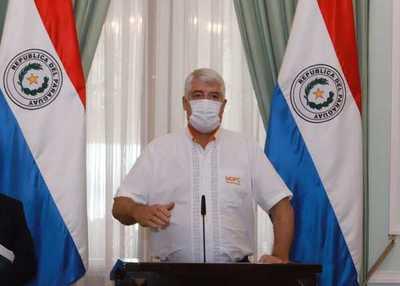 Ministro de Obras Públicas dio positivo al covid-19