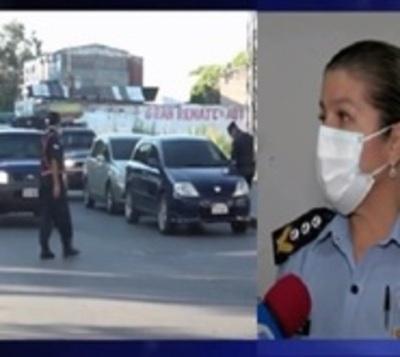 Policía anuncia controles más estrictos